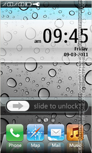 iPhone 08 tema screenshot