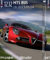 Скриншот темы Alfa-Romeo