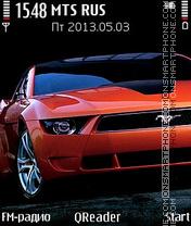Скриншот темы Mustang+