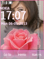 Riya Sen theme screenshot