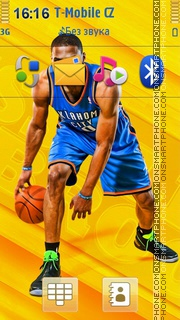 Basketball Player by Zoya es el tema de pantalla
