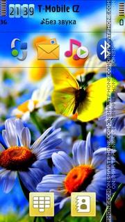 Flowers 04 theme screenshot