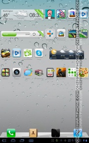 iPhone Style 03 theme screenshot