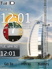 Burj Al Arab - Luxury Hotels in Dubai Theme-Screenshot