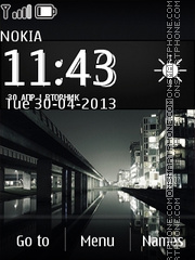HTC One Night theme screenshot