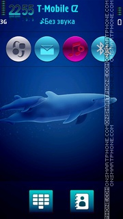 Dolphin family HD theme screenshot