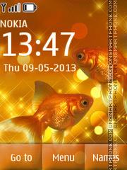 Gold Fish es el tema de pantalla