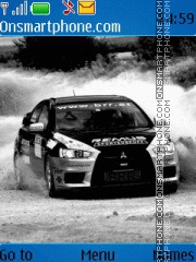 Mitsubishi Lancer EVO Drifting tema screenshot