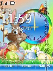 Happy Easter 09 tema screenshot