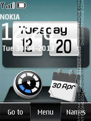 Battery Charging theme screenshot