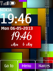 Nokia Colours 02 theme screenshot