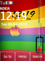 Apple 26 Theme-Screenshot