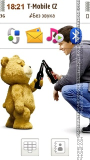 Ted Film theme screenshot