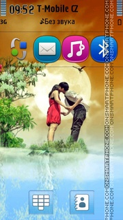 Loving Couple 04 tema screenshot