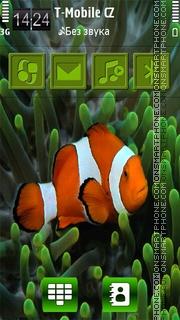 Fish love HD 01 es el tema de pantalla