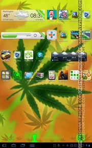 Rasta 03 tema screenshot