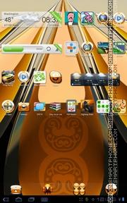 Скриншот темы 3D Sunrise Deluxe