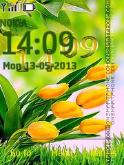 Скриншот темы Tulips