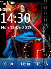 Fashion Art of Jean Paul theme screenshot