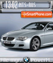 Bmw M6 01 theme screenshot