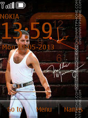 Freddie Mercury By ROMB39 theme screenshot