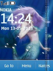 Mermaid theme screenshot