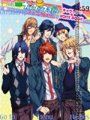 Uta noPrince-sama Maji Love 1000 theme screenshot