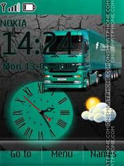 Скриншот темы Mercedes Truckload By ROMB39