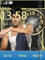 Handsome Enrique theme screenshot