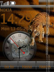 Free Tiger By ROMB39 theme screenshot