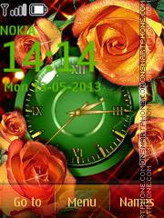 Shining Rose es el tema de pantalla