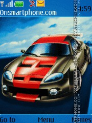 Sport Car 08 theme screenshot