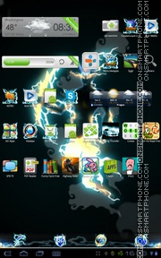 Thunder 03 tema screenshot