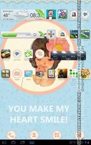 Nice Girl 12 Theme-Screenshot