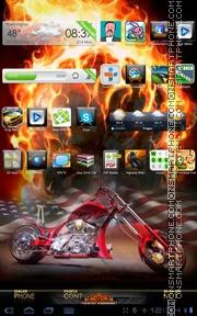 Скриншот темы American Chopper 01