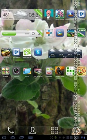 Spring 09 theme screenshot