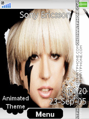 Lady Gaga Theme-Screenshot