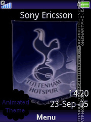 Spurs theme screenshot