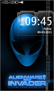 Alienware 12 es el tema de pantalla