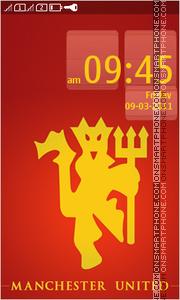 Manchester United 1882 theme screenshot