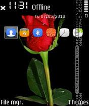 Red Rose 10 theme screenshot
