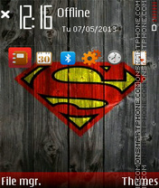 Superman 04 theme screenshot