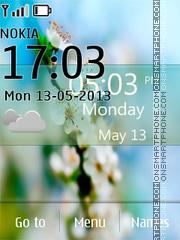 Flower Spring Live theme screenshot