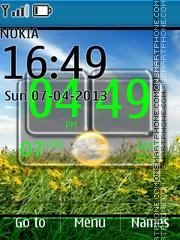 Nature Summer Live theme screenshot