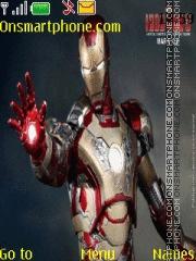 Скриншот темы Iron Man