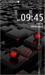 Nice Cube theme screenshot