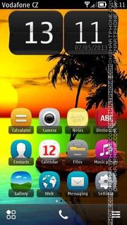 Island 13 theme screenshot