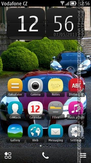 Bugatti Veyron 19 theme screenshot