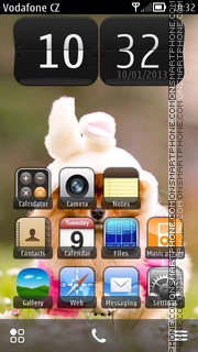 Cute Puppy 07 theme screenshot