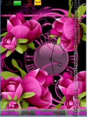 Just Flowers theme screenshot